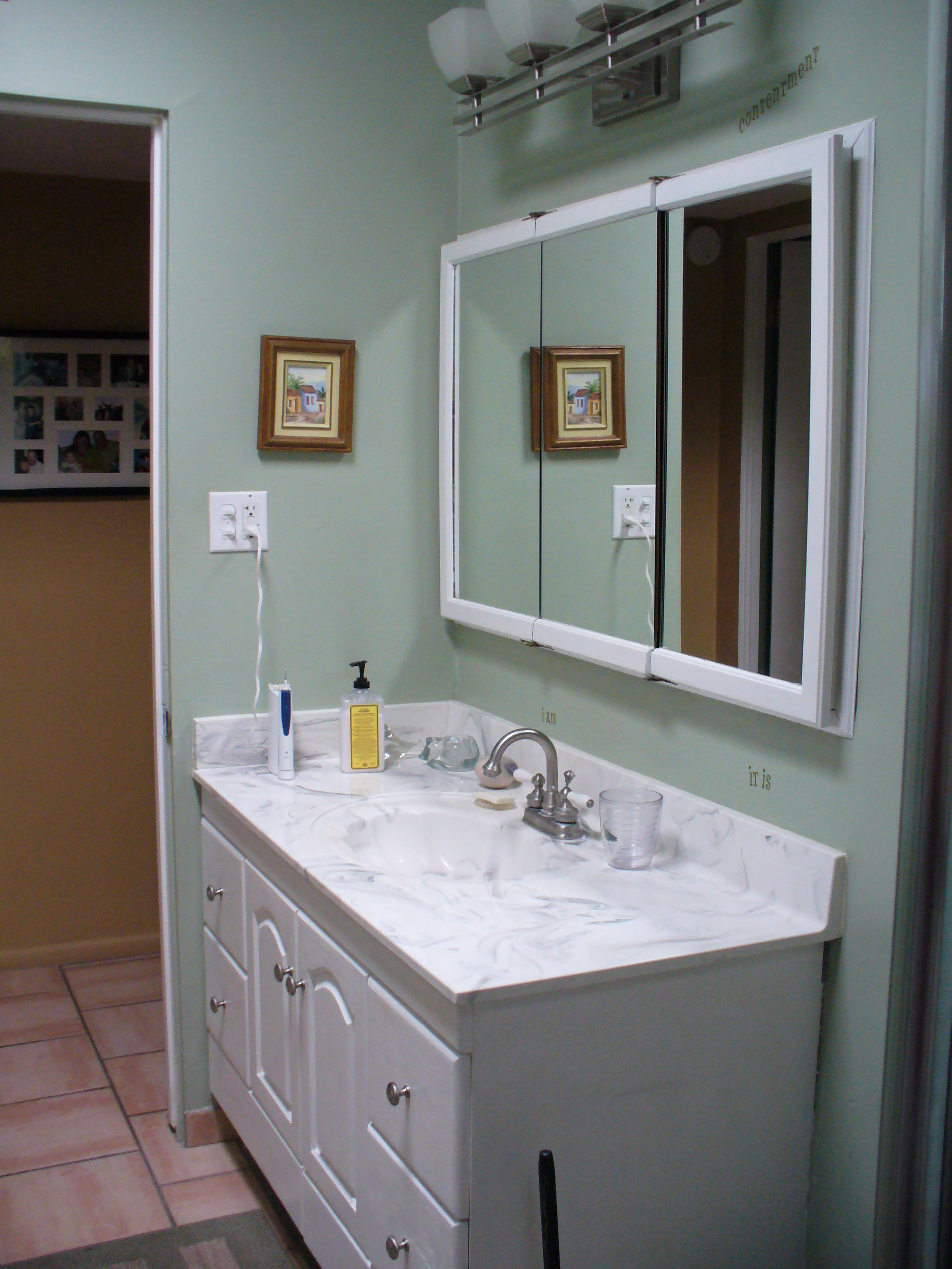bathroom cabinet remodel. Bathroom Vanity - Before Remodel Cabinet T